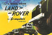 Advertizement Digital Art - Land Rover by Nomad Art And  Design