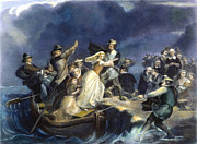 Settler Prints - Landing Of The Pilgrims Print by Granger