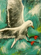 Heather  Gillmer - Landing Seagull