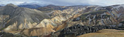 Landmannalaugar Panorama 1 Print by Rudi Prott