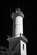 Faro Photos - landmark lighthouse in Barrio Historico Colonia Del Sacramento Uruguay South America by Joe Fox