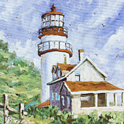Finding Fine Art Paintings - Lands End 02 by Prankearts by Richard T Pranke