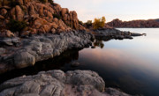 Watson Lake Photos - Lands End by Michael Smith-Sardior