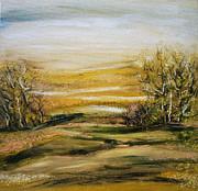 Landscape - 1 Print by Tania Baeva