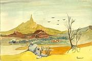 Landscape 4 Print by Padamvir Singh