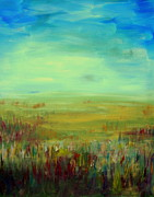 Julie Lueders Originals - Landscape Abstract by Julie Lueders