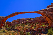 Utah National Parks Prints - Landscape Arch Underlit Print by Scott McGuire