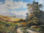 Summer Paintings - Landscape in Dilijan by Tigran Ghulyan