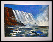 Oils Originals - Landscape US 2 by Anand Swaroop Manchiraju