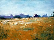 RB McGrath - Landscape With Barn