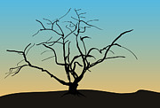 Graphics - Landscape with Tree by Dave Gordon