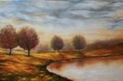Emery Franklin Metal Prints - Landscapes Metal Print by Emery Franklin