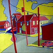 Lanesville Corner Gloucester Ma Print by Debra Bretton Robinson