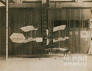 1901 Prints - Langley Airplane Model Print by Photo Researchers