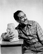 Harlem Art - Langston Hughes (1902-1967) by Granger