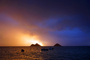 Kevin W. Smith Framed Prints - Lanikai Dawn Hawaii Framed Print by Kevin Smith