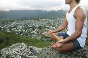 Enjoyment Photos - Lanikai Yoga by Brandon Tabiolo - Printscapes