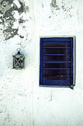 Greece Photo Prints - Lantern And Window Print by Joana Kruse