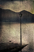 Night Lamp Photo Posters - Lantern At The Lake Poster by Joana Kruse