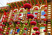 Paper Lantern Photos - Lanterns In Chinatown by Geri Lavrov
