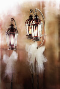 Candle Holder Framed Prints - Lanterns Framed Print by Stephanie Frey