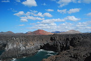 Canary Metal Prints - Lanzarote Canary Islands- Metal Print by Antonio Camara