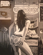 Death Proof Framed Prints - Lapdance intro Framed Print by Justin Robertson