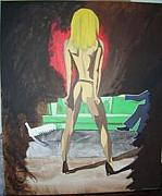 Lap Painting Originals - Lapdancer by Lauran Childs