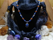 Chakra Jewelry - Lapis Lazuli Necklace by Susan Olin-Dabrowski