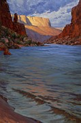 Colorado River Paintings - Lapping Waves of the Colorado by Cody DeLong