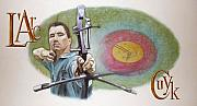 Archery Art - LArc Mural by Arie Van der Wijst