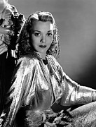 Silver Dress Prints - Larceny, Inc., Jane Wyman, 1942 Print by Everett