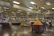 Grocery Store Photos - Large and Modern Grocery Store by Robert Pisano