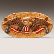 American Flag Reliefs - Large Eagle by James Neill