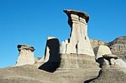 Hoodoos Framed Prints - Large Hoodoos Framed Print by David Kleinsasser