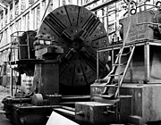 Black  Photos - Large Lathe by John Buxton