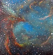 Galaxy Prints - Large Magellanic Cloud Print by Alizey Khan