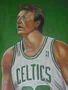 Larry Bird Art - Larry Bird by Bernell  Heard