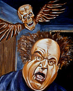 Larry Paintings - Larry Fine by Chris Benice