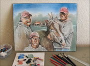 Friend Pastels - LarryV - a Friend by Glenn Bautista