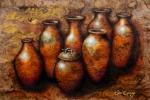 Pottery Metal Prints - Las Copuchas Metal Print by Juan Jose Espinoza