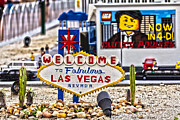 Sign In Florida Photo Metal Prints - Las Legos Metal Print by Nicholas Evans