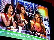 Michael Metal Prints - Las TV Chicas by Michael Fitzpatrick Metal Print by Olden Mexico