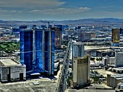 Las Vegas Framed Prints - Las Vegas 013 Framed Print by Lance Vaughn
