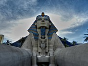 Great Sphinx Framed Prints - Las Vegas 50 Framed Print by Lance Vaughn