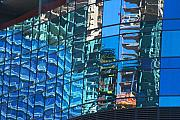 City Center Prints - Las Vegas City Center Reflection Print by Richard Henne