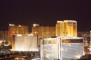 Night Scenes Photo Originals - Las Vegas Jewels by Charles Yellowfeather