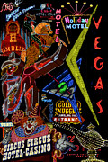 Nevada Prints - Las Vegas Neon Print by Andrew Fare