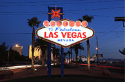 Road Travel Framed Prints - Las Vegas, Nevada Framed Print by Jumper