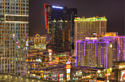 Ambassador Digital Art Prints - Las Vegas Nevada Print by Nicholas  Grunas